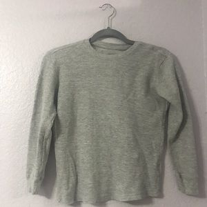 Grey thermal camping under shirt.(kids shirt)